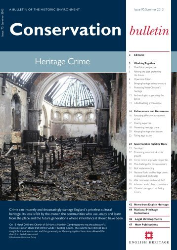 Conservation Bulletin 70 | PDF - English Heritage