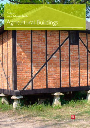Designation Listing Selection Guide: Agricultural ... - English Heritage