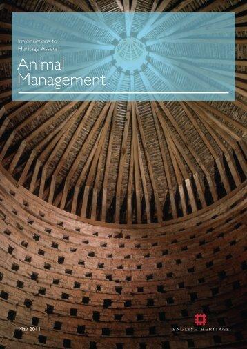 Animal Management - English Heritage