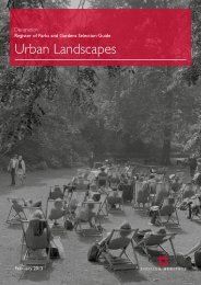 Urban Landscapes - English Heritage