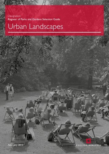 Urban Landscapes - English Heritage