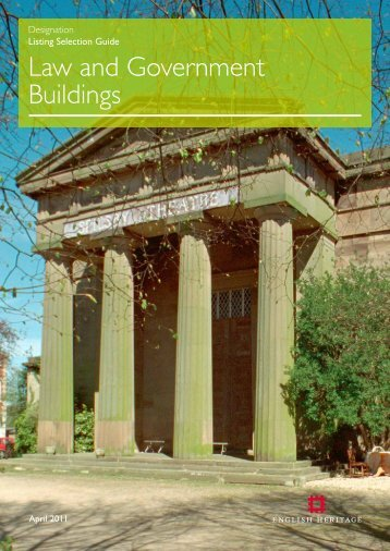 Law and Government Buildings - English Heritage