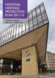 National Heritage Protection Plan: Overview April ... - English Heritage