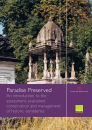 Paradise Preserved An introduction to the assessment ... - HELM