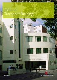 Designation Listing Selection Guide: Transport ... - English Heritage