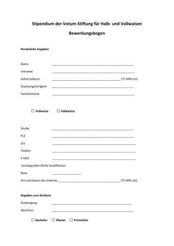 Bauplatzbewerbung Richtlinien Mit Bewerbungsformular