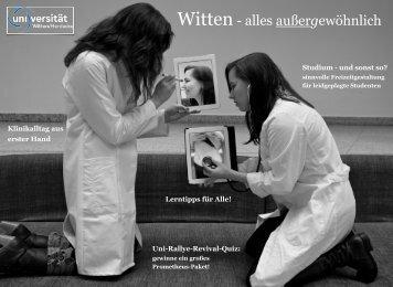 Unizeitung - Universität Witten/Herdecke