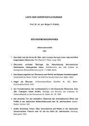 Liste - Universität Witten/Herdecke
