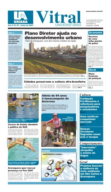 Plano Diretor ajuda no desenvolvimento urbano - Uniara