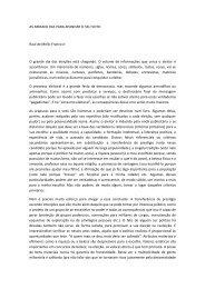 ARTIGO AS ARMADILHAS PARA APANHAR O SEU VOTO - Uniara