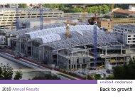 2010 Full year results - Unibail-Rodamco