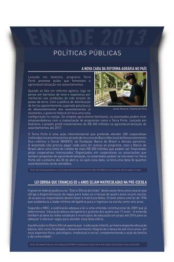 POLÍTICAS PÚBLICAS - UniBrasil