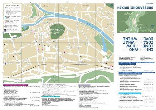 BRESSANONE BRIXEN - Libera Università di Bolzano