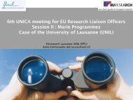 FP7 – 7th EU Framework Programme for Research and ... - UNICA