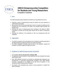 Competition Guidelines - UNICA