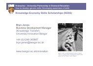 Knowledge Economy Skills Scholarships - UNICA