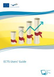 New ECTS Users' Guide. - clioh-world