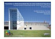 Universidade Nova de Lisboa Institutional Repository - UNICA