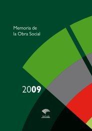 Memoria de la Obra Social - Unicaja