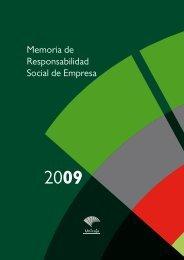 Memoria de Responsabilidad Social de Empresa - Unicaja