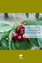 Informe Anual del Sector Agrario en Andalucía 2008 - Unicaja