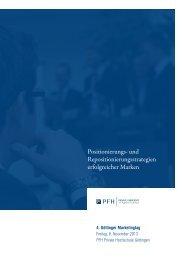4. Göttinger Marketingtag (08.11.2013) - UNICconsult ...