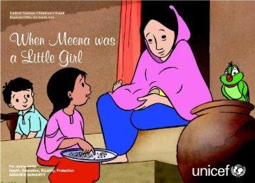 Meena is a little girl - Arvind Gupta