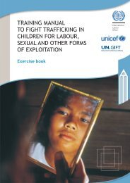Exercise book - Unicef