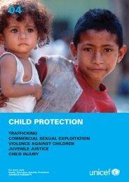 CHILD PROTECTION - Unicef