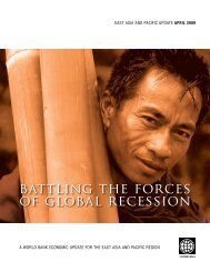 Battling the Forces of Global Recession, April 2009 - Unicef