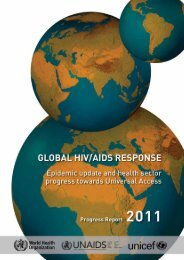 Global HIV/AIDS response - libdoc.who.int - World Health Organization