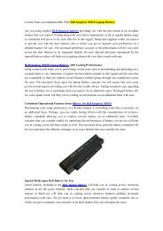 Crucial Tasks Accomplished Best With Dell Inspiron N5010 Laptop Battery.pdf