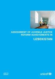 UZBEKISTAN - Unicef