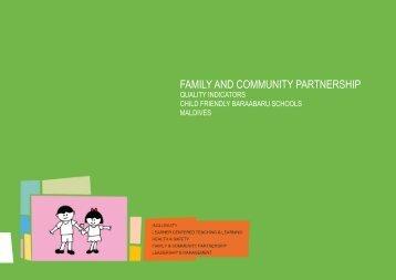 FAMILY AND COMMUNITY PARTNERSHIP - Unicef