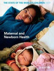 Maternal and Newborn Health - Childinfo.org