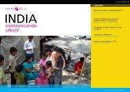 India Communication Update August 2009 - Unicef