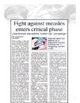 Articles in Media on Measles Campaign - Unicef - Page 5