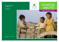 Situation Analysis of Children and Women in Pakistan - Unicef