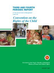 Third and Fourth Periodic Report on CRC - Unicef