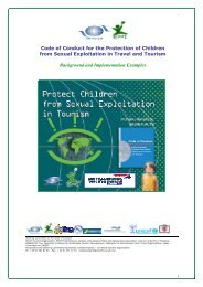 Code of Conduct - ECPAT International