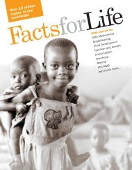 Facts for Life-PMS144.qrk - Unicef