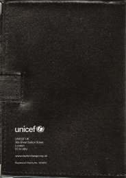 Day for Change passport - Unicef UK