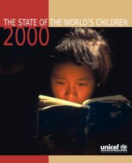complete State of the World's Children 2000 - Unicef