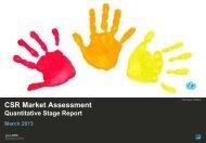 Read the CSR research report (PDF) - Unicef UK