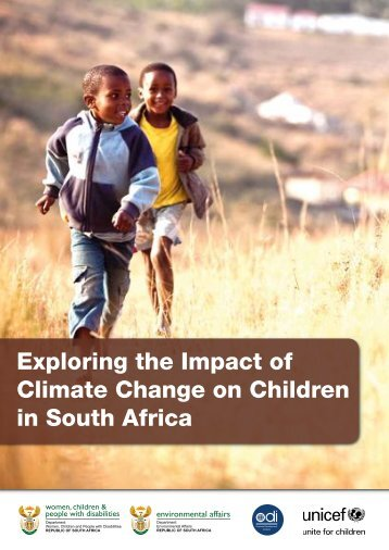 Exploring the Impact of Climate Change on Children in ... - Unicef