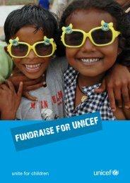 fundraise for UNICEF - Unicef UK