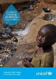 Climate Change in Kenya: focus on children - UNCCD