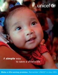 our new brochure - Unicef UK