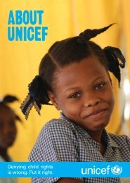 Email is a cost-effective way of communicating - Unicef UK