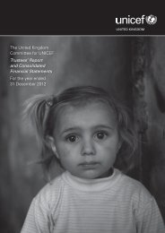 Download the report (PDF) - Unicef UK